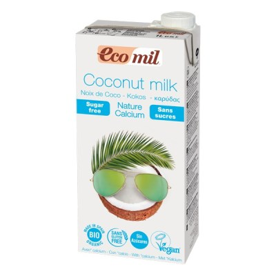 Bowl Cake à la farine de coco - Lait de coco Ecomil - Recette Ma Healthy Tendency
