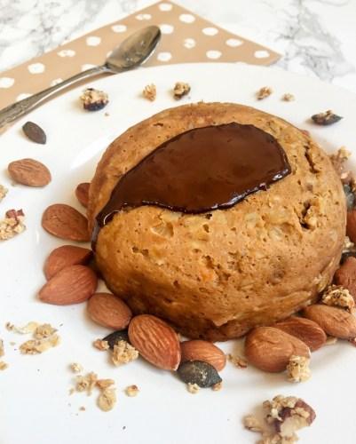 Bowl Cake Patate Douce Lait Châtaigne Flocons d'avoine - Recette Ma Healthy Tendency