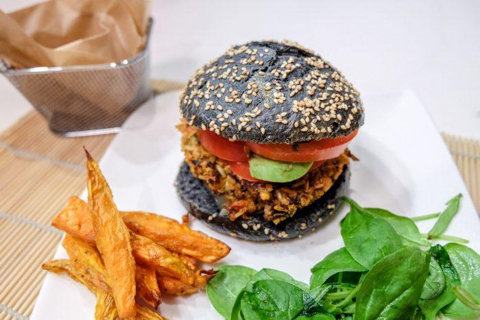 Burger Healthy Charbon Végétal Ma Healthy Tendency