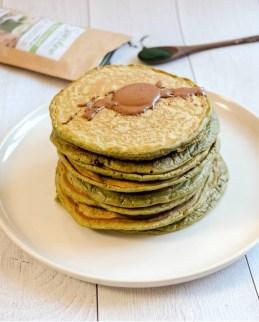 recette pancakes à la spiruline mahealthytendency