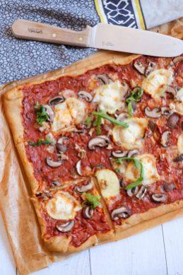 pizza végétarienne mahealthytendency