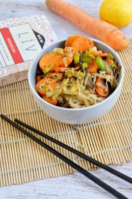 wok noodles konjac légumes recette ma healthy tendency