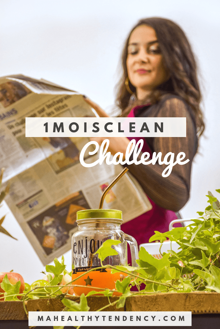 1 mois clean challenge