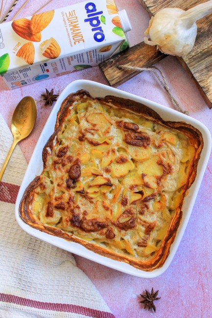 Gratin Dauphinois sans Lactose - Recette Mahealthytendency