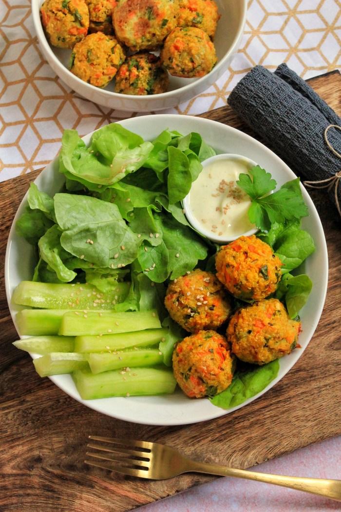 Boulettes Végétariennes - Recette Mahealthytendency