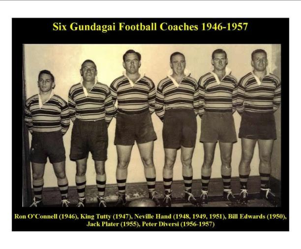 Ron O'Connell, King Tutty, Nevyl Hand, Bill Edwards, Jack Plater & Peter Diversi