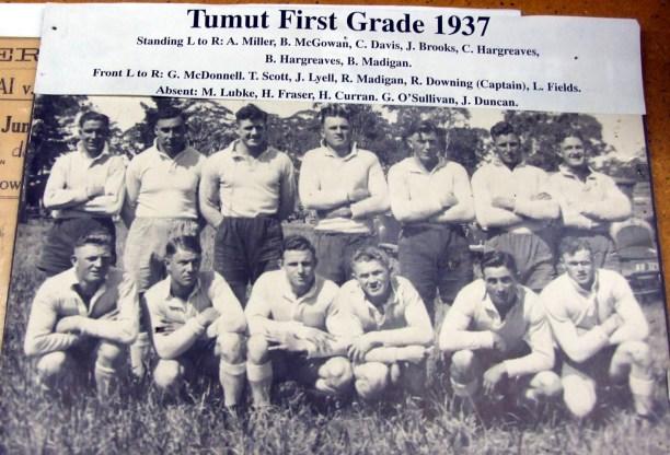 Tumut team of 1937
