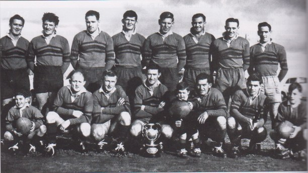 West Wyalong team which held the Cup for 11 consecutive weeks.