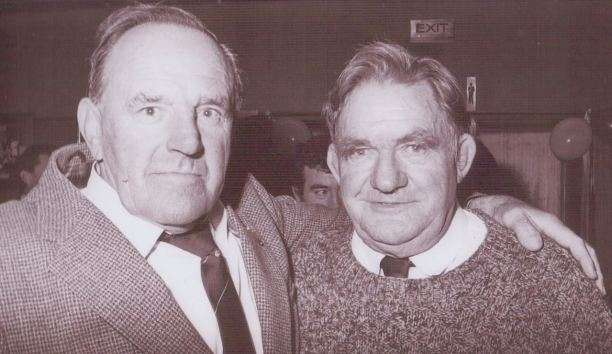 Nevyl Hand and Fred later in life.