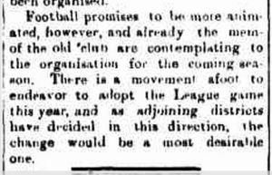 Marengo News column of Burrowa News 5 May 1911