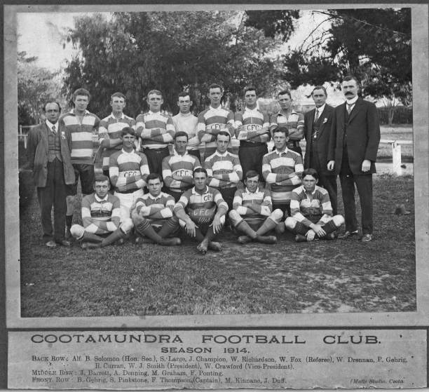 Cootamundra Rugby Team 1914