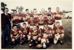 The Barmedman team of 1961