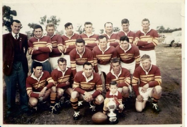 Barmedman 1961 with Bruce Maitland back left.
