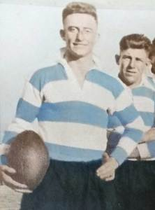 Jack Kingston - captaining Cootamundra in 1930. Source: Wal Gavin