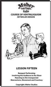 Maher Course of Ventriloquism Lesson 15
