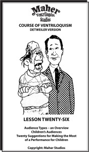 Maher Course of Ventriloquism Lesson 26