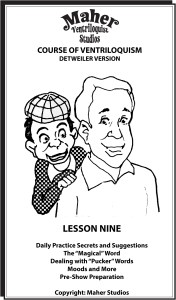 Maher Course of Ventriloquism Lesson Nine