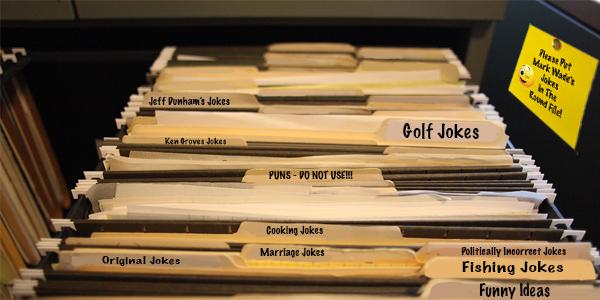 Organizing The Joke File