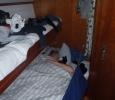Lite sömn mellan vaktpassen