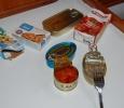 Provsmakning av konserver.