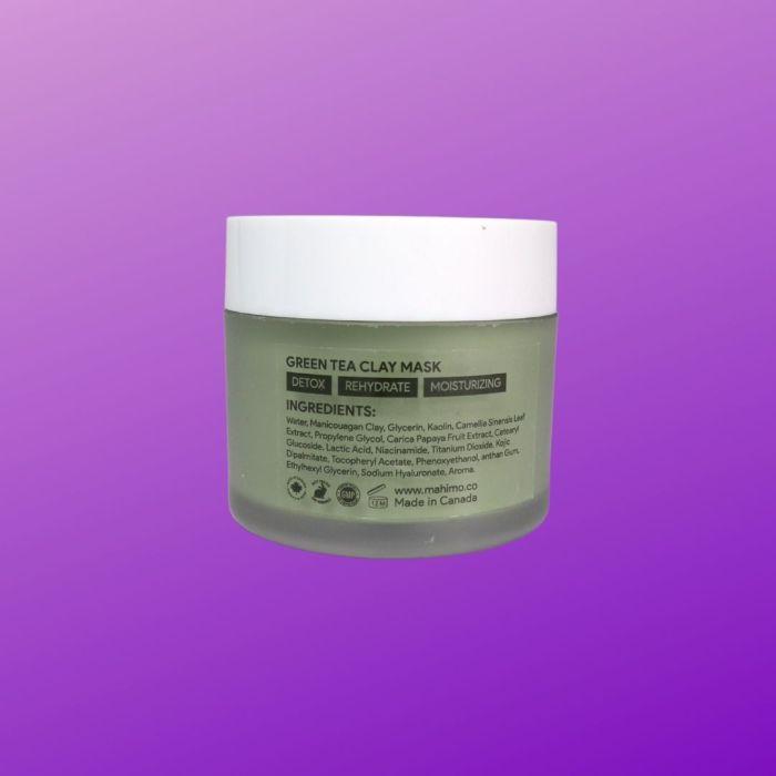 GREEN TEA CLAY MASK | STEM CELLULAR MASK -