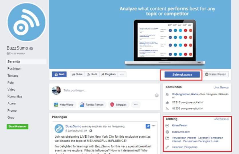 panduan beriklan di Facebook