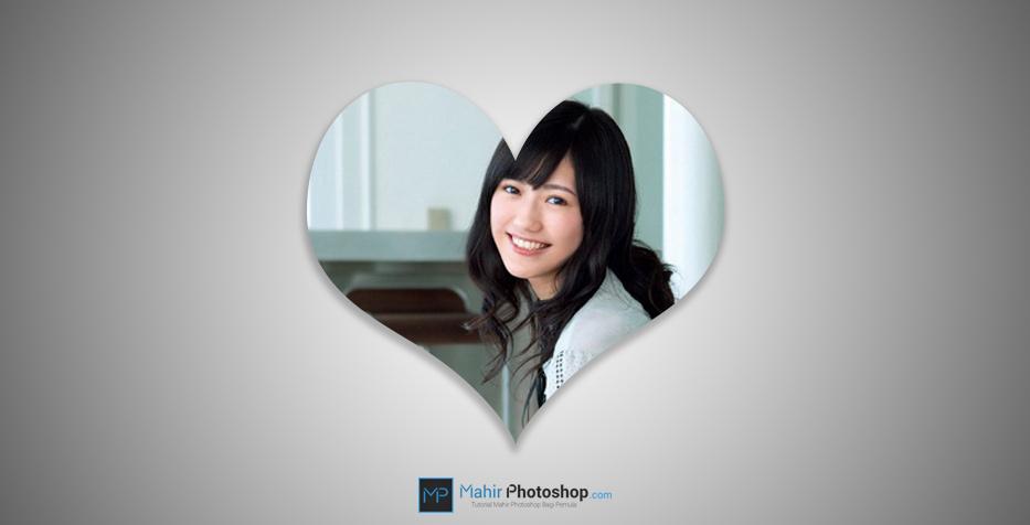 Cara Crop Gambar Dengan Bentuk Bebas Di Photoshop Mahir Photoshop