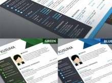 Download Mockup Curriculum Vitae Gratis