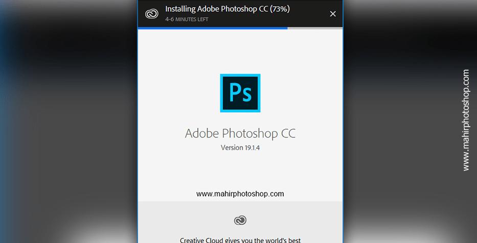 cara install adobe photoshop yang benar