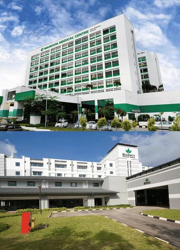 Kantor Perwakilan Mahkota Medical Centre & Regency Specialist Hospital 6