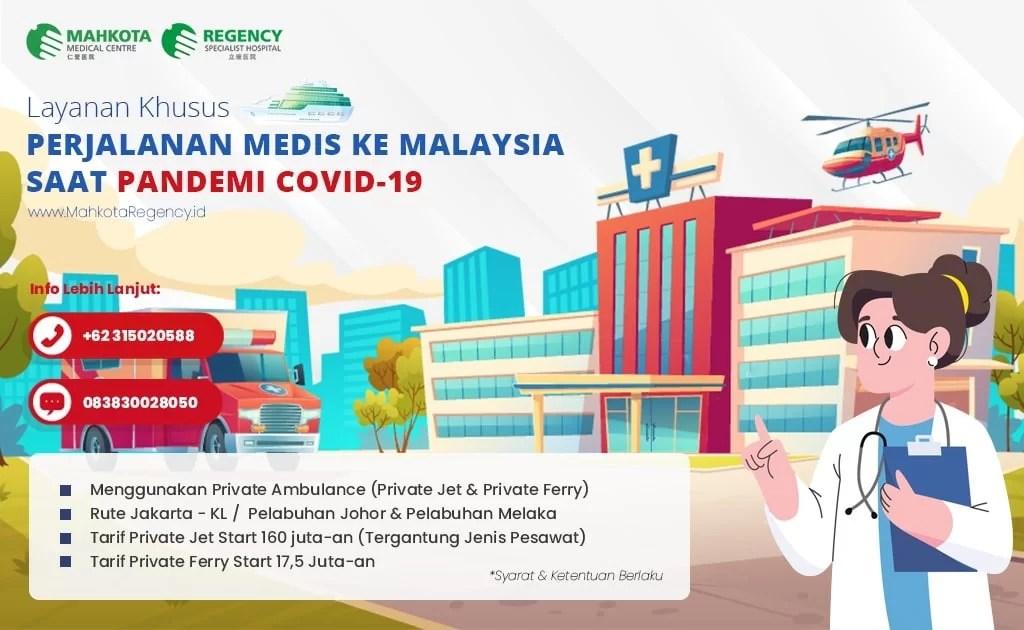 Keberangkatan Berobat ke Malaysia Bisa Dilakukan Selama Pandemi Via Private Ferry 1