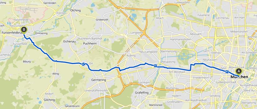München - Fürstenfedbruck