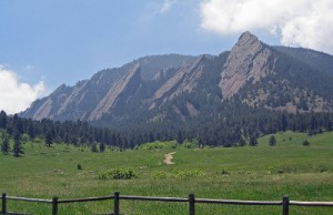 Flatirons Mountains Boulder
