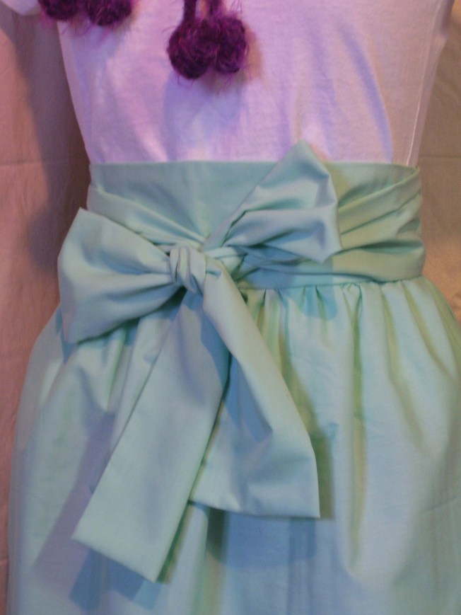 Obi Belted Skirt