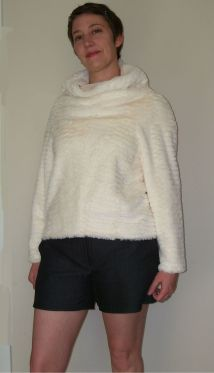 Faux Fur Sweater