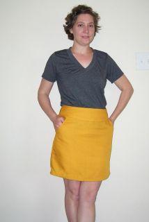 Goldenrod Skirt