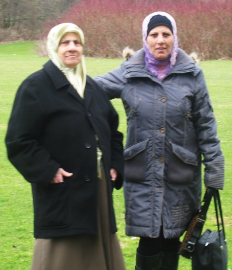 mother & sister Zahra