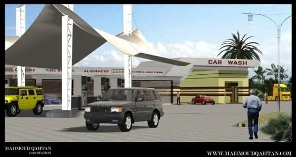 محطة بنزين Gas Station