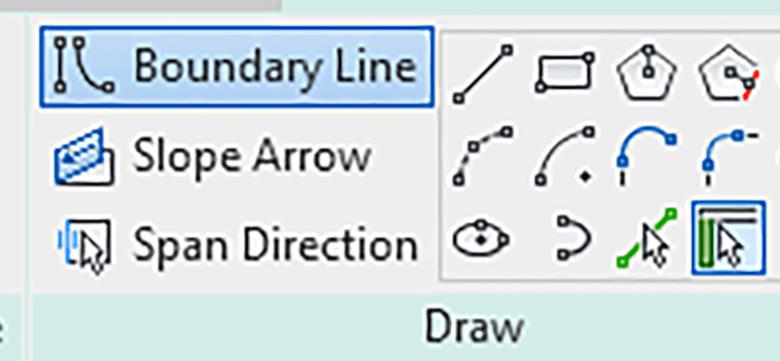 أدوات الرسم في Sketch Tools in Revit
