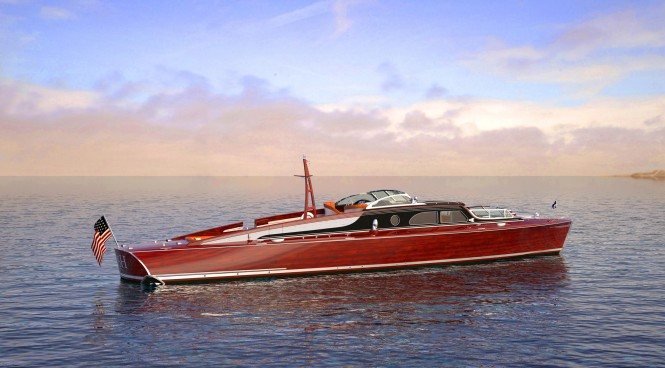 Elite Modern Classic Luxury Mega Yacht Tender POSH