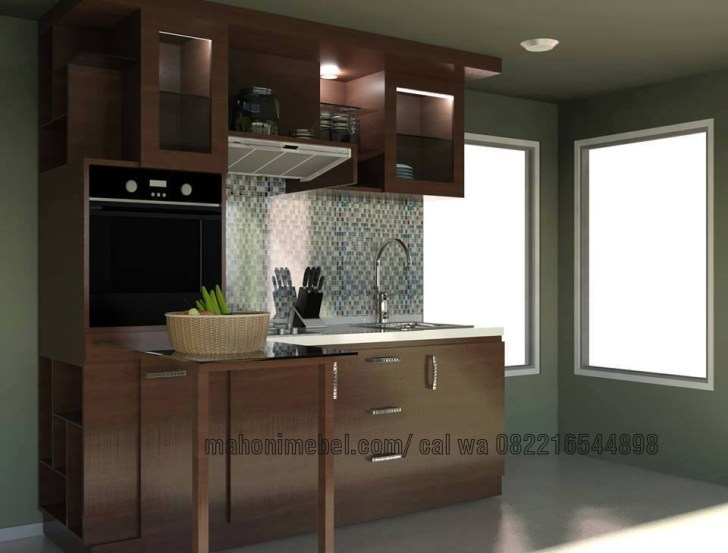 Kitchen Set Minimalis Modern Simple