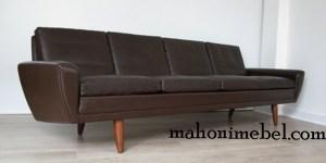 Sofa Retro Vintage Coklat