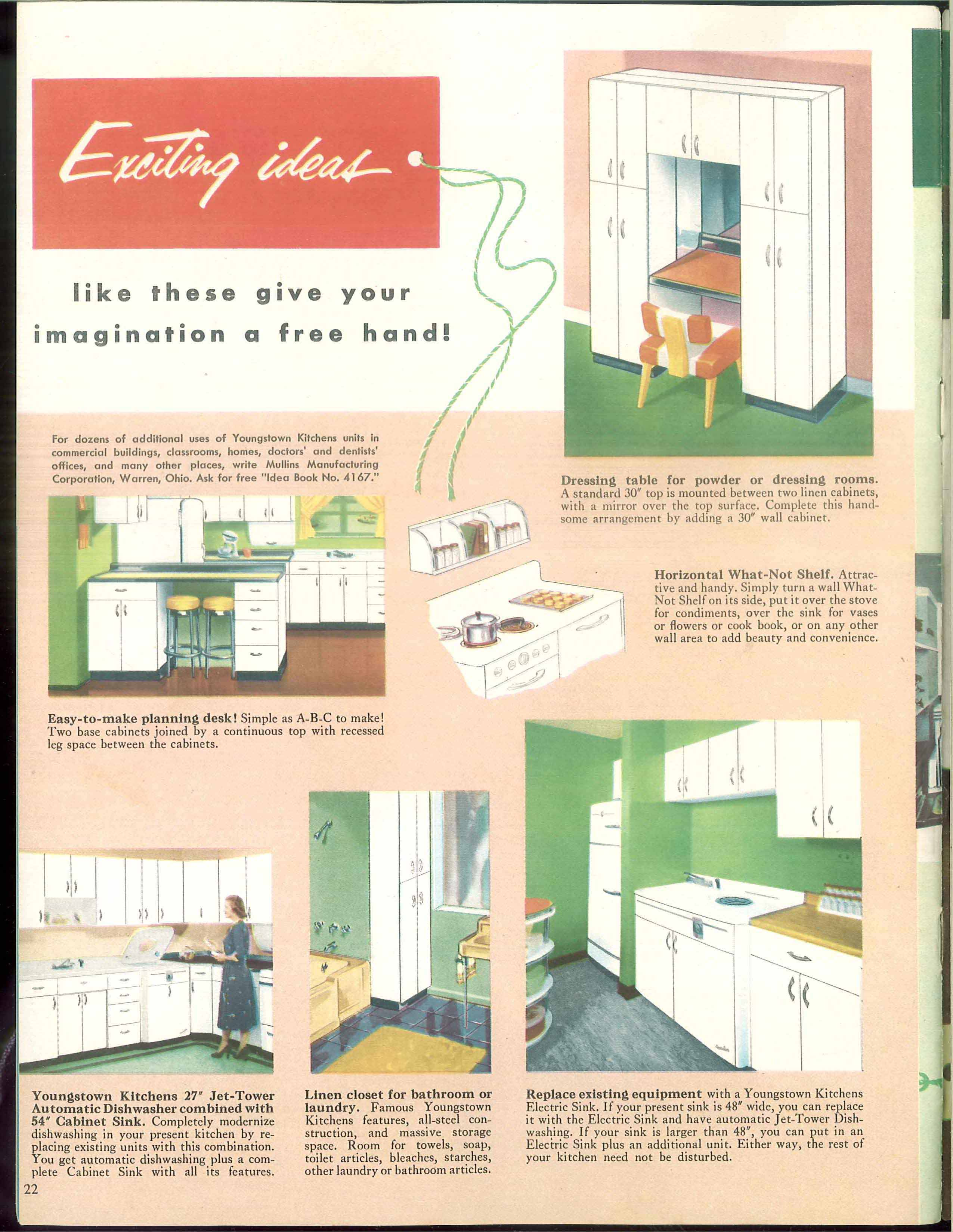 History of mullins manufacturing corporation mahoning valley the makers of the youngstown kitchen workwithnaturefo