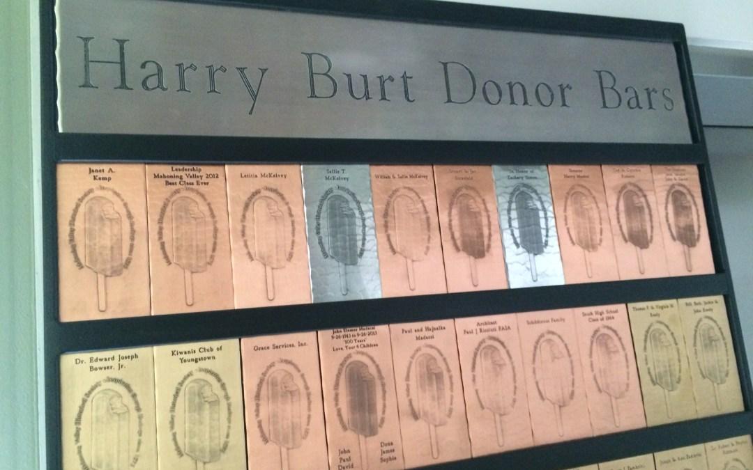 Harry Burt Donor Bars