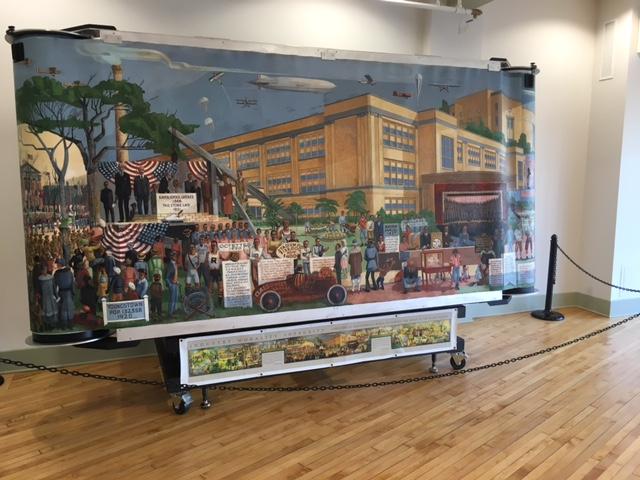 Rayen High School Mural Now On Display