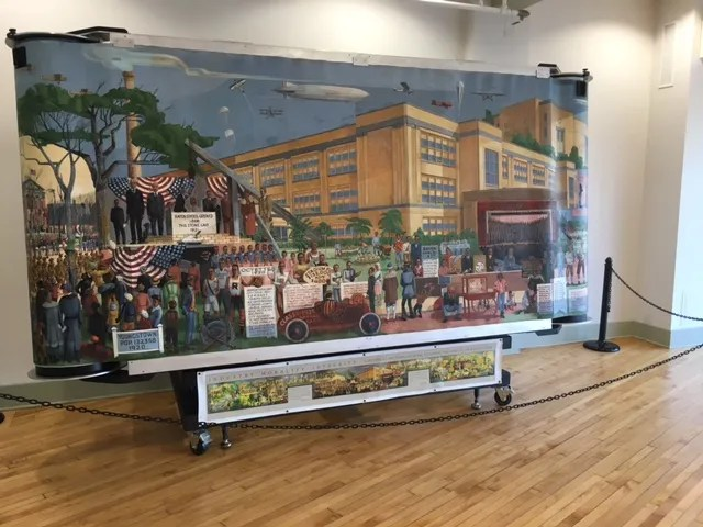 Rayen High School Mural Now On Display