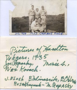 2001-90-136 Haselton Dodgers with identifications 1935