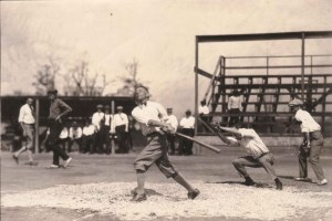 78-57 Youngstown Sheet and Tube Baseball game player at bat