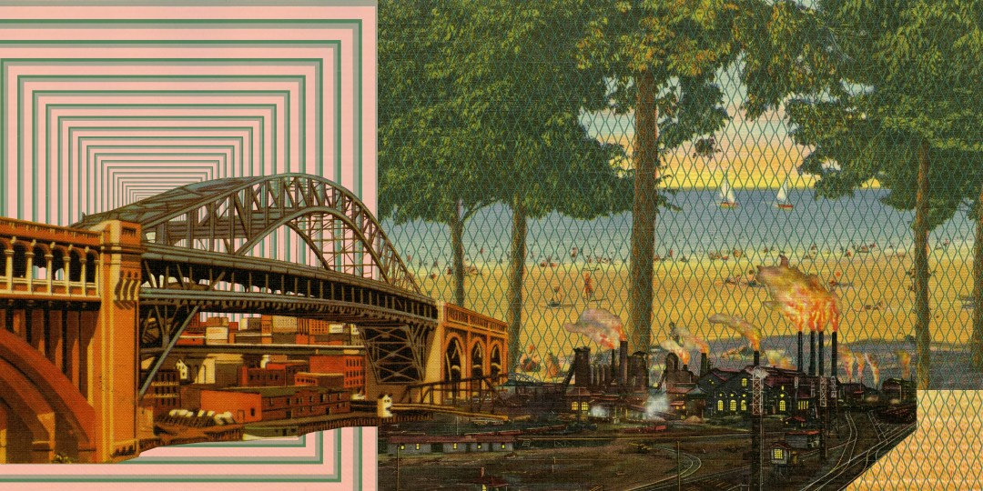 Youngstown Composition 2 (84 x 42)