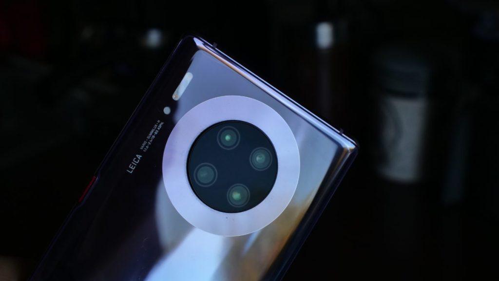 Kamera Huawei Mate 30